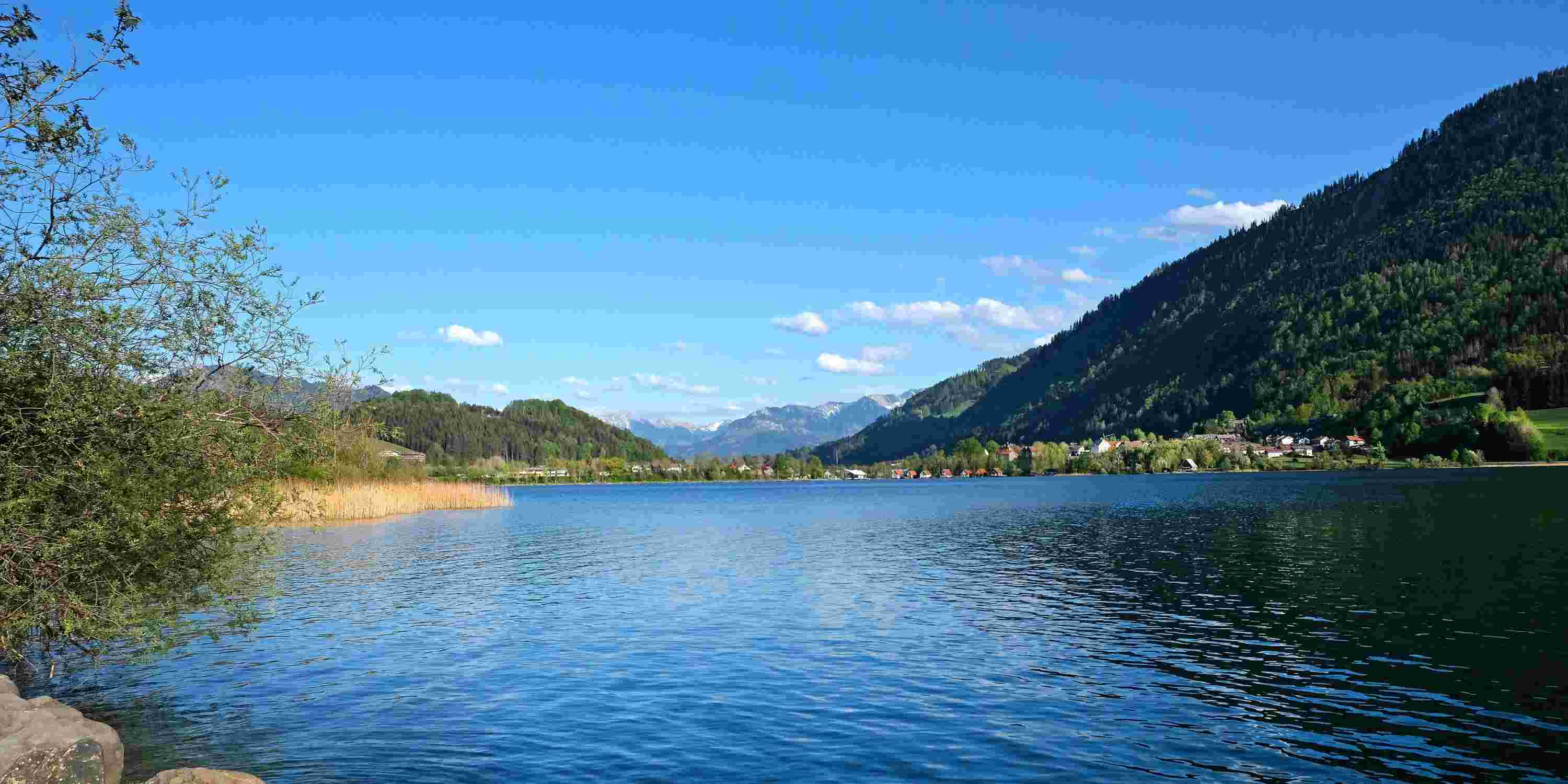 Stand Up Paddling am Alpsee