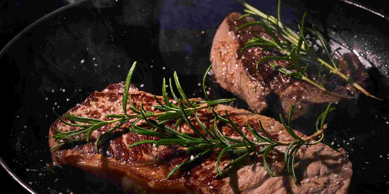 Steakabend in der Allgäu Sonne