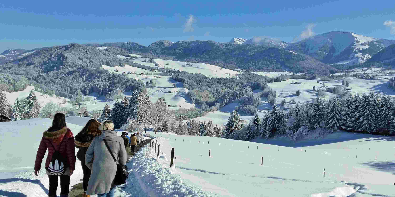 Geführte Wanderung vom Hotel Allgäu Sonne in Oberstaufen