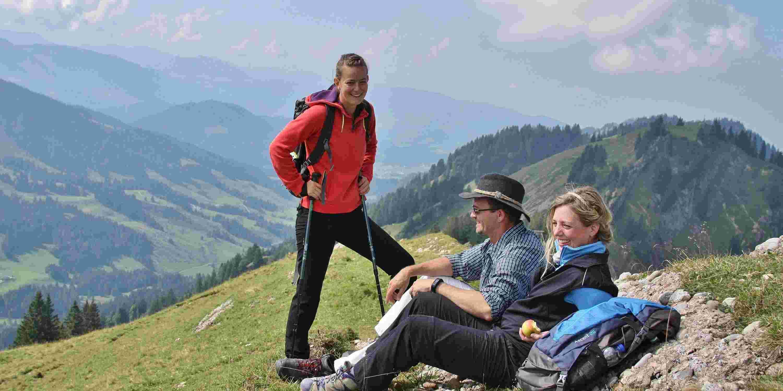 Große Wanderung mit den Sportbetreuern der Allgäu Sonne