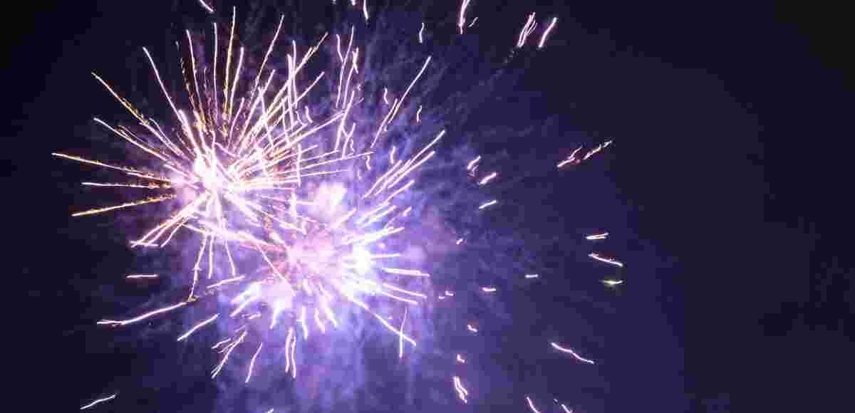 Feuerwerk Hotel Allgäu Sonne