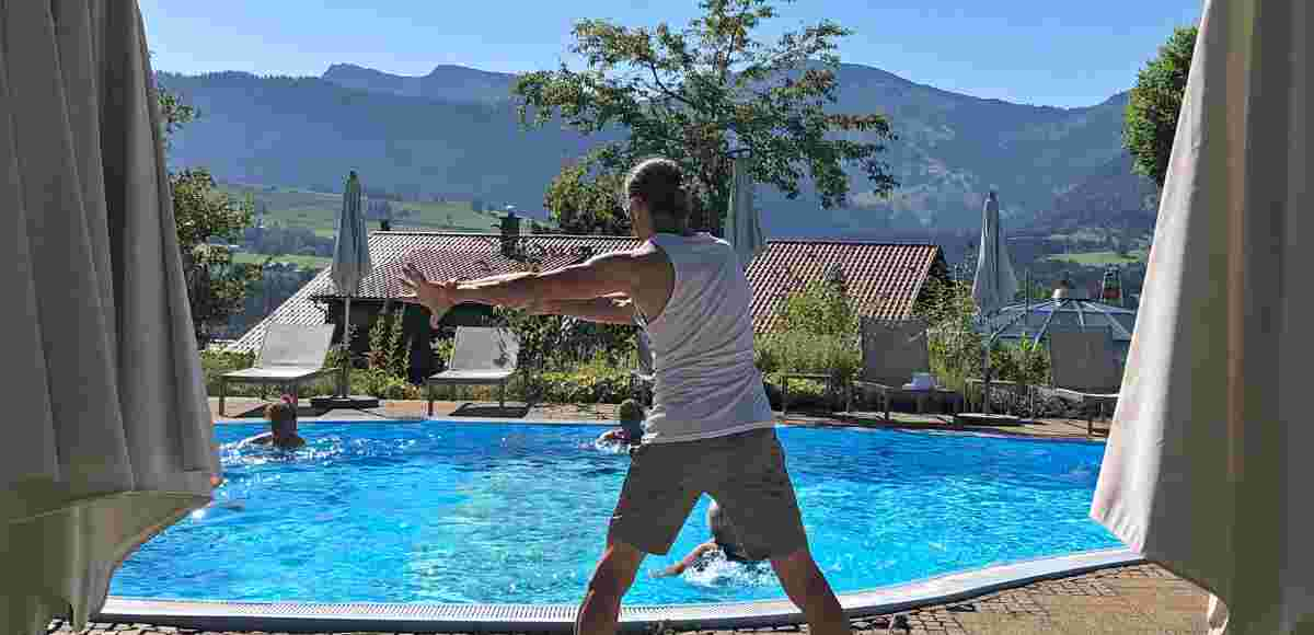 Aqua Fit im 5* Sport- & Wellnesshotel Allgäu Sonne