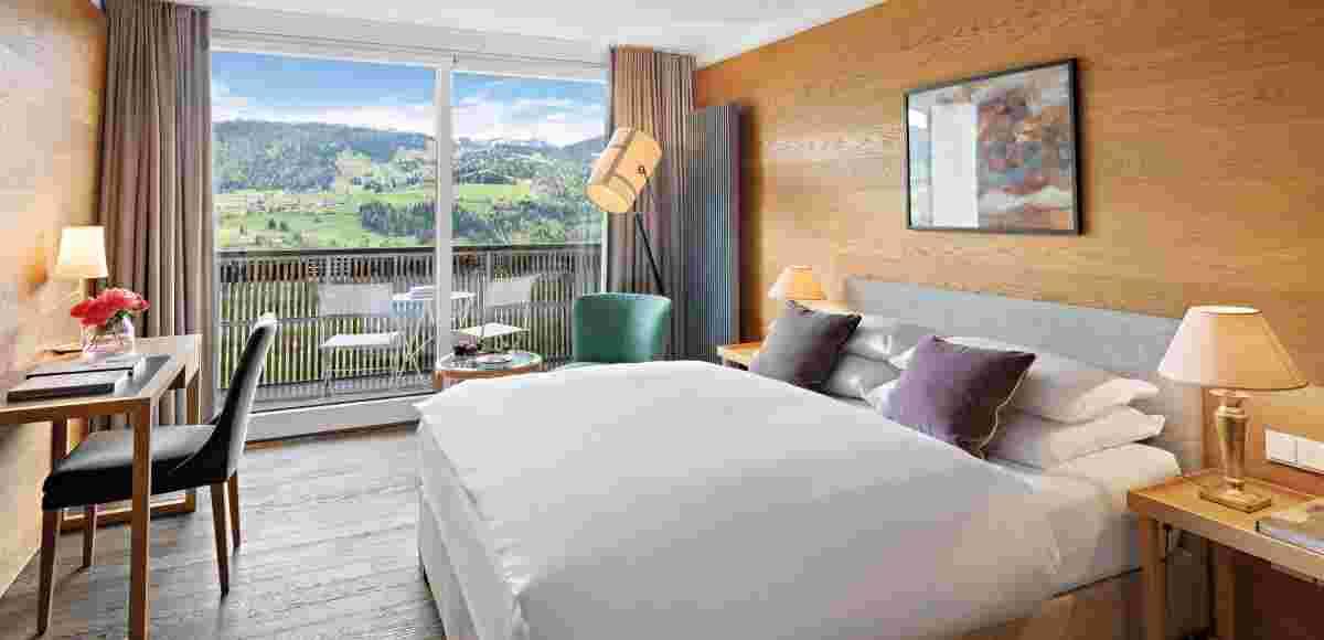 Superior Double Room in the hotel Allgäu Sonne in Oberstaufen