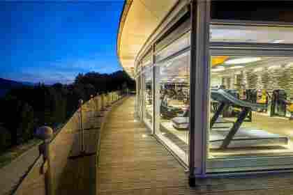 Fitnessbereich im Hotel im Allgäu