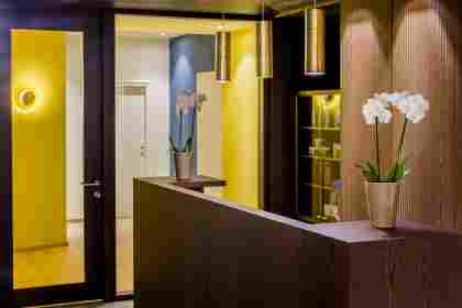 Wellnessrezeption im Hotel Allgäu Sonne