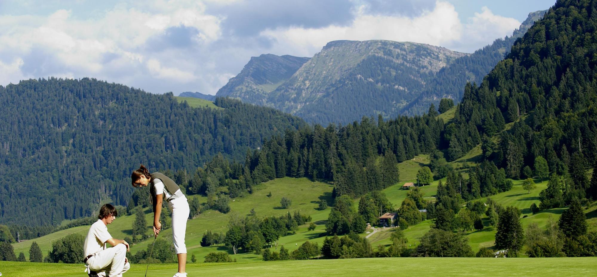 Golf oberstaufen steibis hotel allg u sonne for Oberstaufen golf