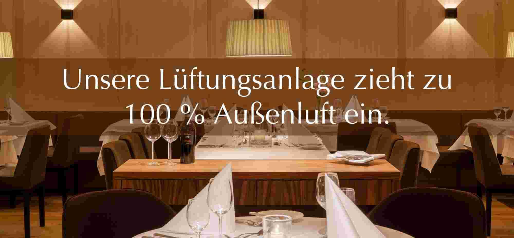 Lüftungsanlage Restaurant im Hotel Allgäu Sonne