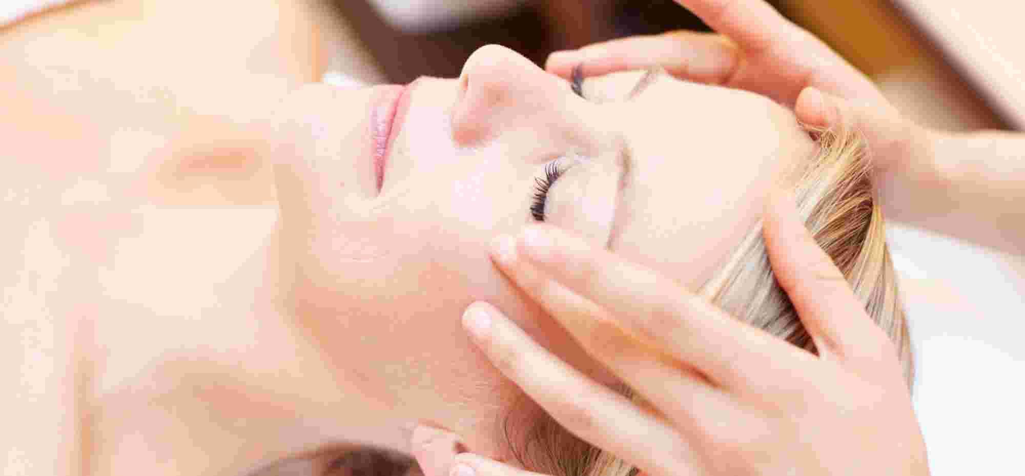 Gesichtsmassage im Wellnesshotel im Allgäu