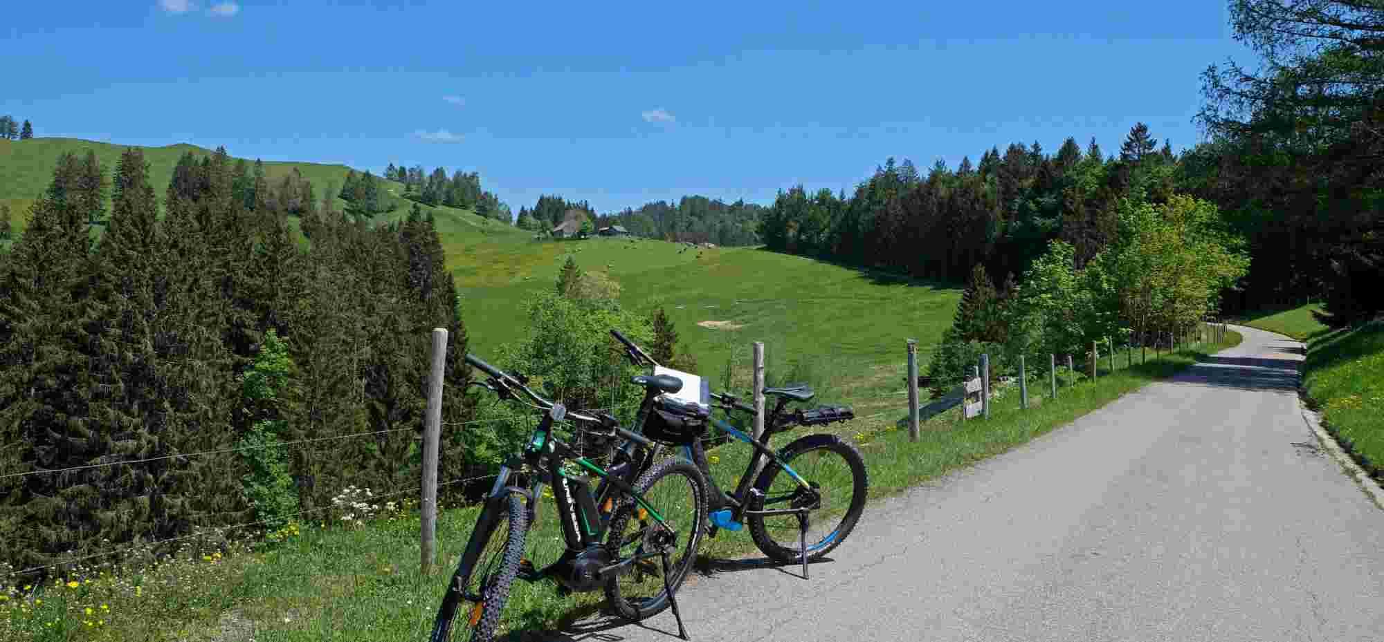 E-Mountain-Bike im Allgäu