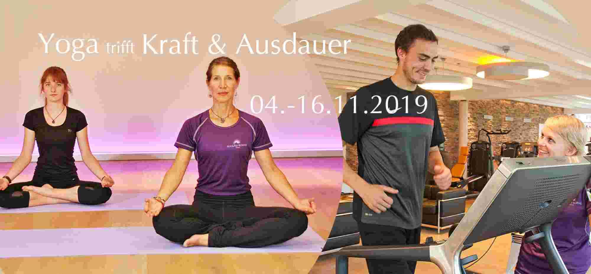 Yoga trifft Kraft & Ausdauer