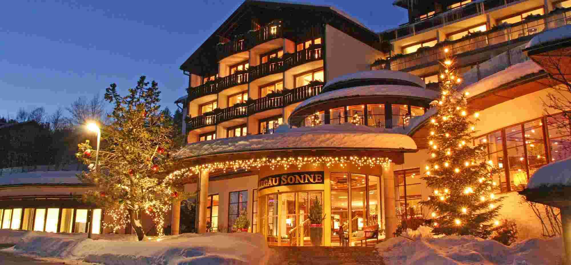 Hotel Allgäu Sonne im Winter