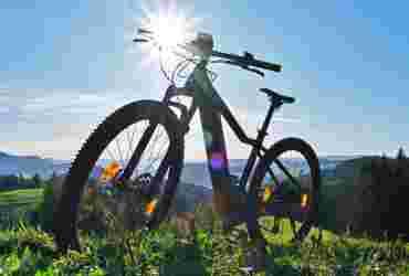 E-Biken in Oberstaufen