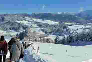 Geführte Winterwanderung des Sporthotel Allgäu Sonne