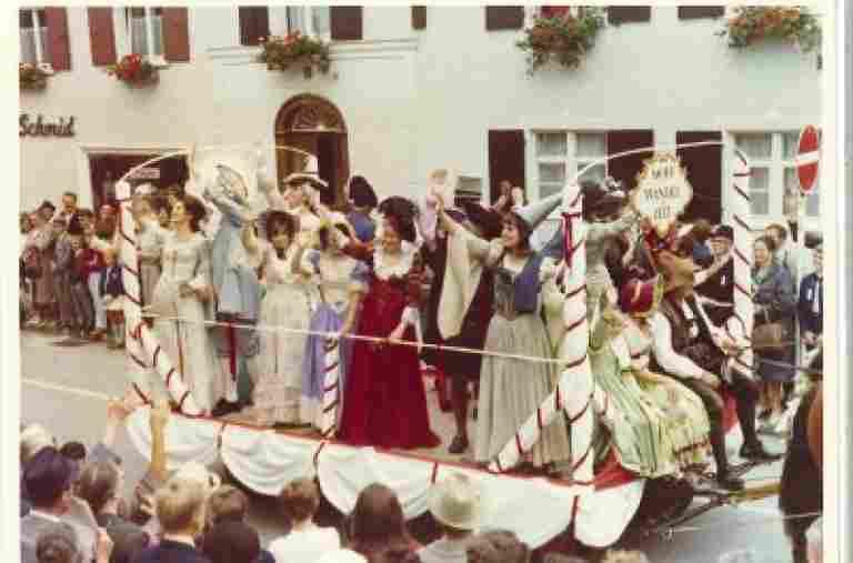Festumzug Oberstaufen 1968