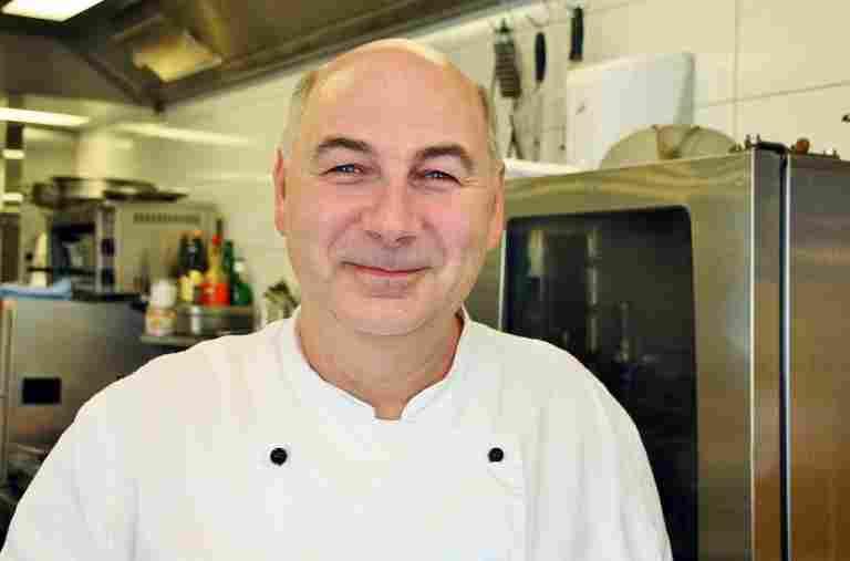 Küchenchef Ralf Lauzening