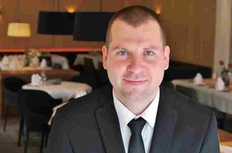 Birg Zogbaum, restaurant manager, Allgäu Sonne