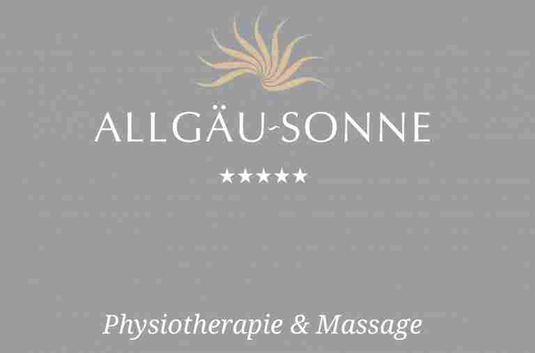 Broschüre Physiotherapie & Massage