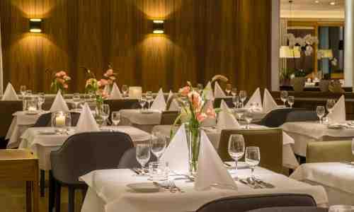 Restaurant im 5* Hotel Allgäu Sonne in Oberstaufen