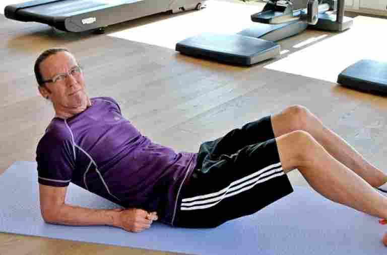 Fitnessübungen für zu Hause, Allgäu Sonne