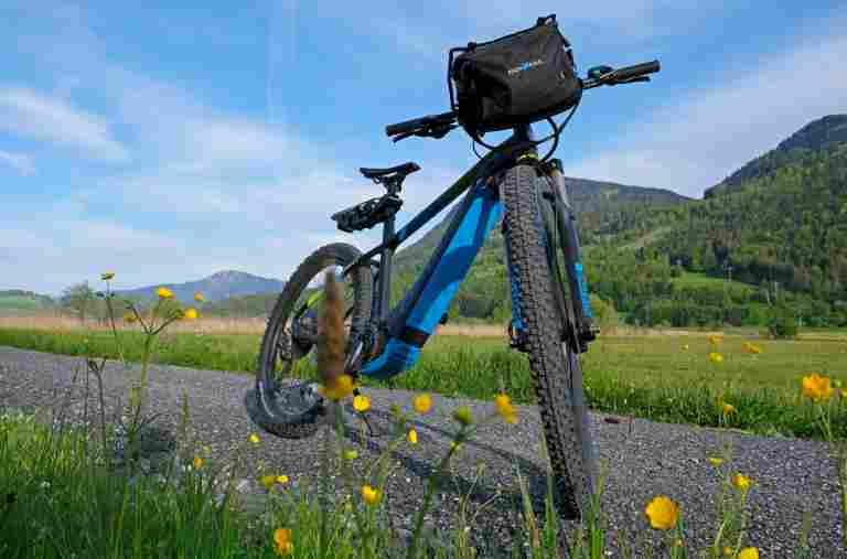 Mit dem E-Bike fahren im Allgäu