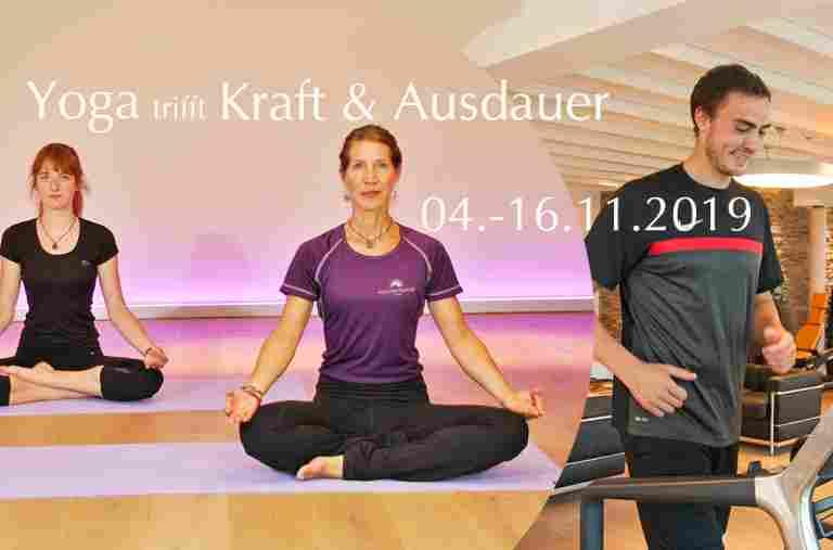 Sportwoche Yoga trifft Kraft & Ausdauer