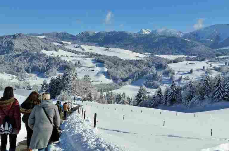 Winter-Aktiv-Woche in der Allgäu Sonne