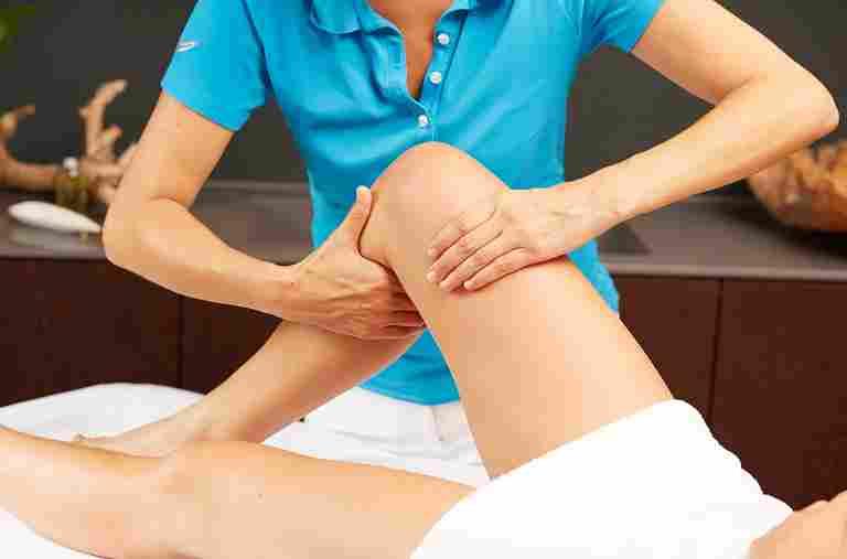 Beine-Relax-Massage