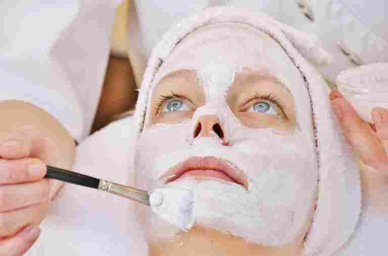 Gesichtsmaske Kosmetik Hotel Allgäu Sonne