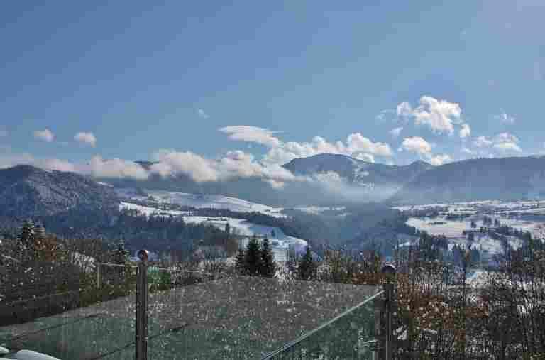 Winterausblick aufs Hochgrath
