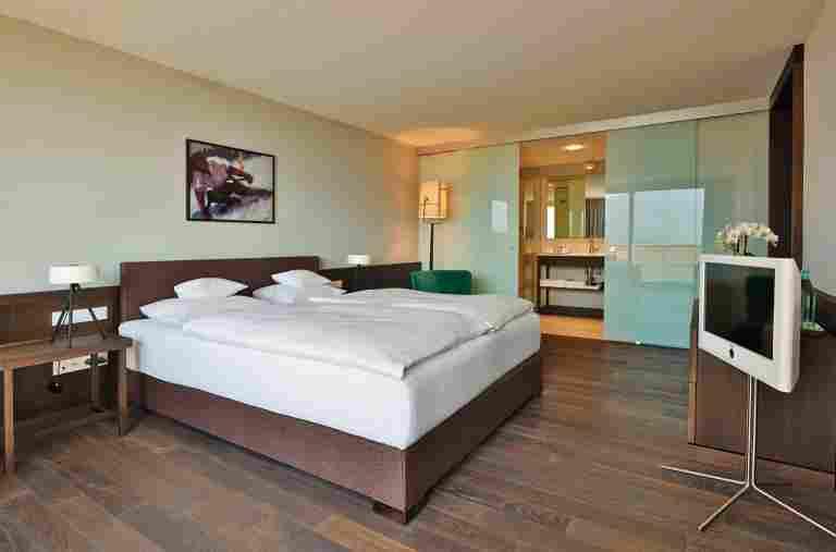 Wohnbeispiel eines Superior Doppelzimmers im Hotel Allgäu Sonne