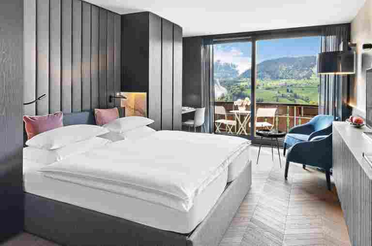 Wohnbeispiel Superior Doppelzimmer im Hotel Allgäu Sonne
