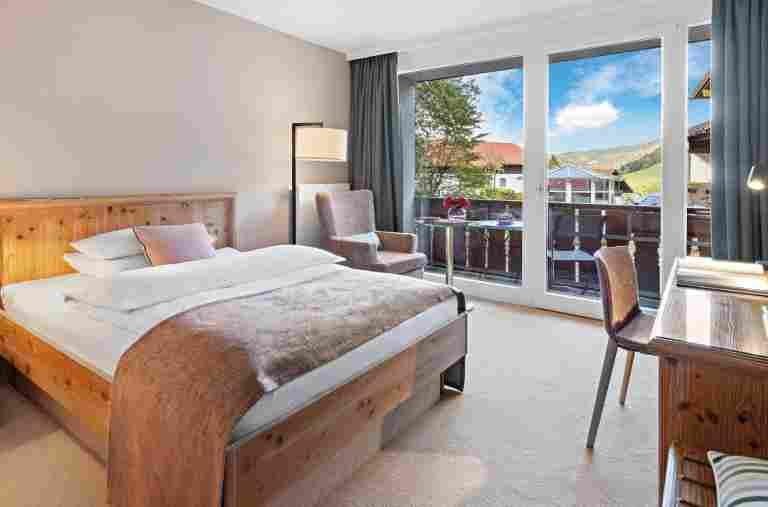 Wohnbeispiel Classic Einzelzimmer in der Allgäu Sonne in Oberstaufen