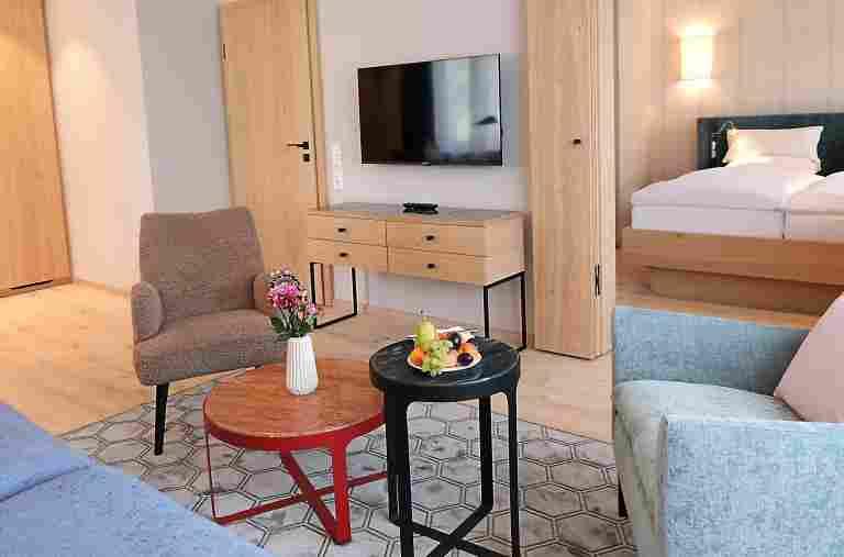 Wohnbeispiel Superior Appartement im Landhaus im 5* Hotel Allgäu Sonnein Oberstaufen