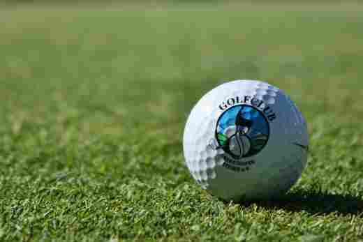 Golfball des Golfclub Oberstaufen-Steibis