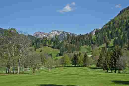 Golfplatz Oberstaufen Steibis