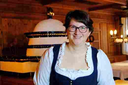 Ilona Weihermann, Betreuerin Schrothstube