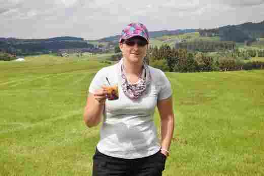 Ilona bei der Bowlewanderung