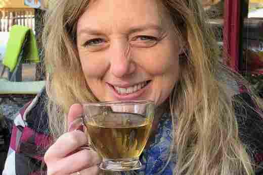 Tee trinken in Oberstaufen im Allgäu