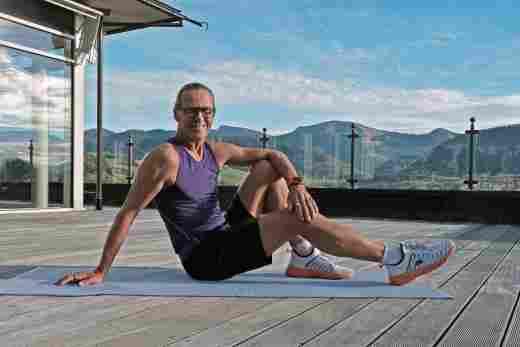 Charly, Fitnesstrainer in der Allgäu Sonne