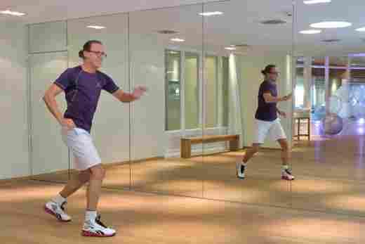 Funky Aerobic mit Charly, Fitnesstrainer im 5* Sport- & Wellnesshotel