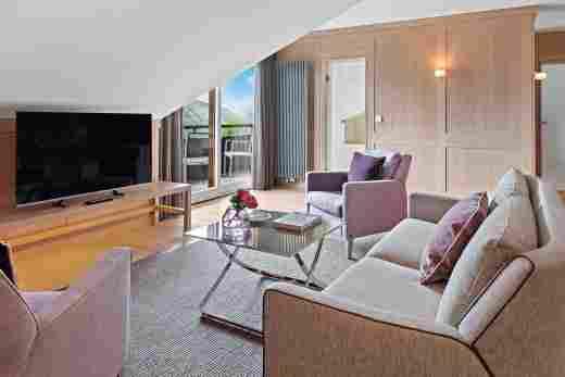 Alpin Suite Süd im 5 Sterne Hotel Allgäu Sonne