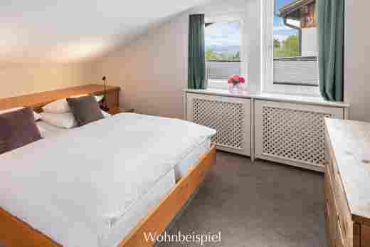 Schlafzimmer im Comfort Doppelzimmer im 5 Sterne Hotel Allgäu Sonne in Oberstaufen