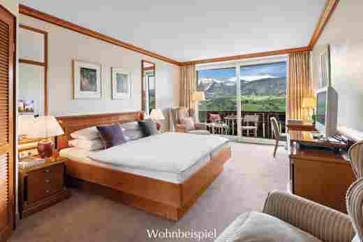 Comfort Doppelzimmer mit Aussicht im 5 Sterne Hotel Allgäu Sonne
