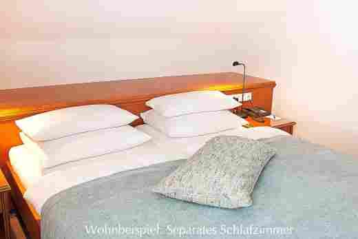 Separates Schlafzimmer vom Standard Doppelzimmer
