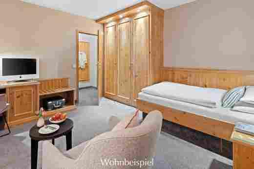 Standard Einzelzimmer im Hotel Allgäu Sonne in Oberstaufen