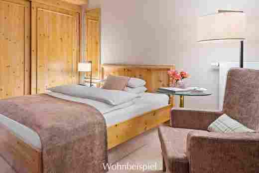 Classic Einzelzimmer, rosa, im Hotel Allgäu Sonne in Oberstaufen