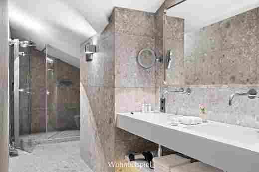 Badezimmer einer Juniorsuite im 5 Sterne Hotel Allgäu Sonne
