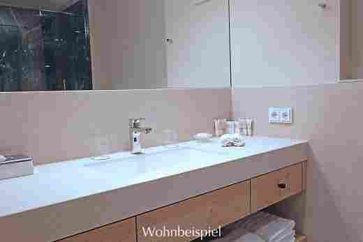 Badezimmer im Superior Appartement im Landhaus Im Hotel Allgäu Sonne in Oberstaufen